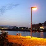 Sonnenuntergang in der Überseestadt 02.08.13