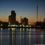 Sonnenuntergang an der Waterfront Bremen 26.08.13