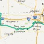 Von Cleveland nach South Bend