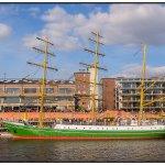 Ankunft der Alexander von Humboldt im Bremer Europahafen